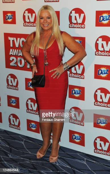 Pamela Stephenson attends the The TVChoice Awards 2011 at The Savoy Hotel on September 13 2011 in London England
