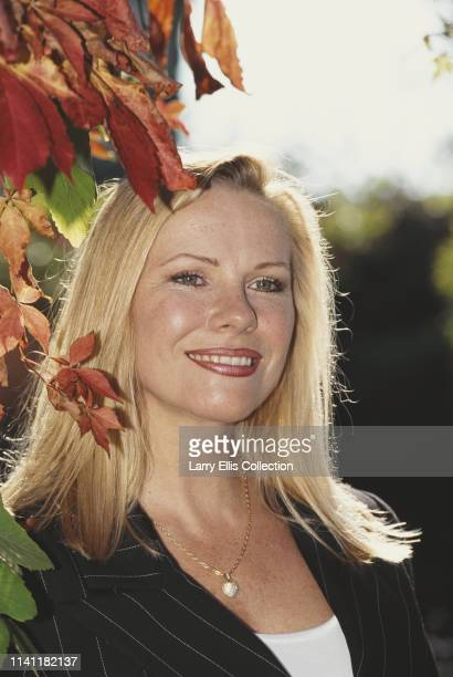 Pamela Stephenson one of the cast of the BBC television comedy sketch show 'Not the Nine O'Clock News' pictured at a press call in London to mark the...