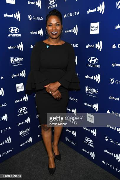 Pamela Stewart attends the 30th Annual GLAAD Media Awards Los Angeles at The Beverly Hilton Hotel on March 28 2019 in Beverly Hills California