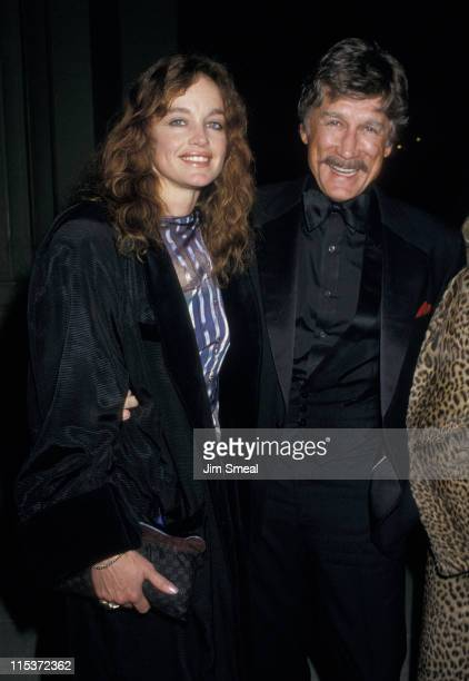 Pamela Sue Martin And Alex Cord during American Ballet Performance March 31987 at Shrine Auditorium in Los Angeles California United States
