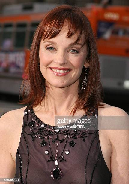 Pamela Sue Martin during Poseidon Los Angeles Premiere Arrivals at GraumanIs Chinese Theater in Hollywood California United States