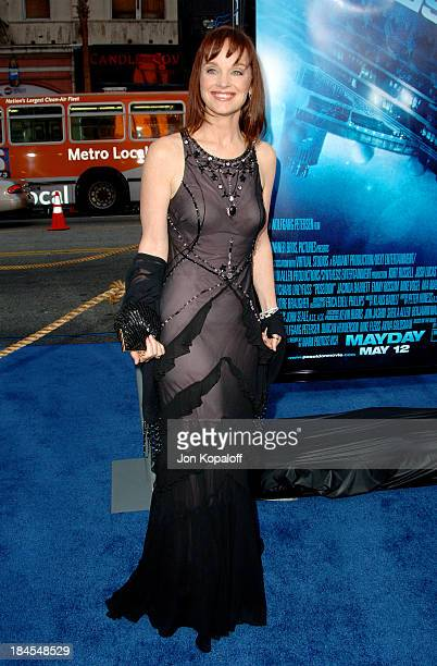 """Pamela Sue Martin during """"Poseidon"""" Los Angeles Premiere - Arrivals at GraumanIs Chinese Theater in Hollywood, California, United States."""
