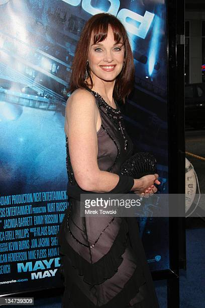 Pamela Sue Martin during Warner Bros premiere of Poseidon Los Angeles Arrivals at Grauman's Chinese Theatre in Hollywood California United States