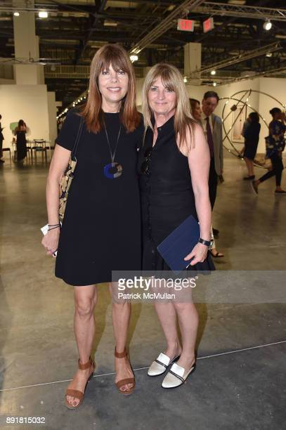 Pamela Taylor Yates and Marilyn Heston attend Art Basel Miami Beach Private Day at Miami Beach Convention Center on December 6 2017 in Miami Beach...