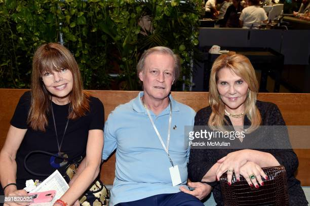Pamela Taylor Yates Patrick McMullan and Judith Ripka attend Art Basel Miami Beach Private Day at Miami Beach Convention Center on December 6 2017 in...