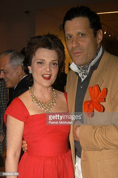Pamela ThomasGraham and David Bowen attend New York City Opera's Opening Night Spring Gala at New York State Theater on March 8 2005 in New York