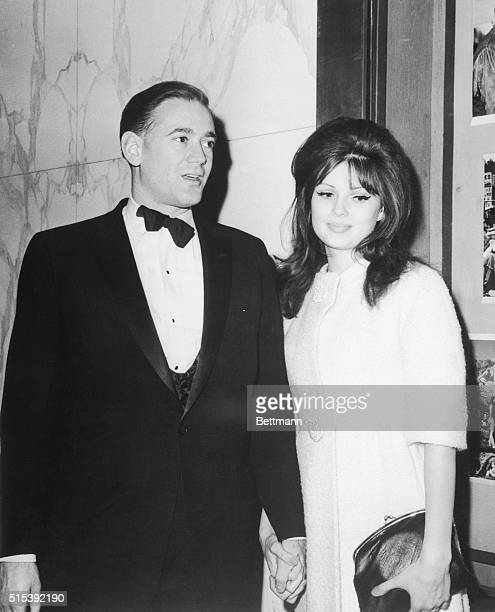 Pamela Tiffin star of MGM's forthcoming 'Come Fly with Me' pictured here with her husband Clay Felker