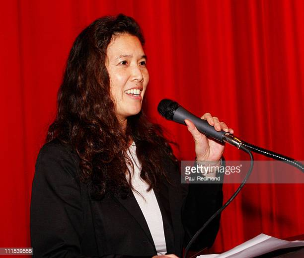 Pamela Tom during Film Independent's Project Involve Presents 'Amu' at Vista Theater in Los Angeles California United States