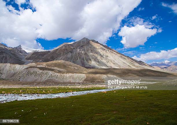 Pamir mountains big pamir wakhan Afghanistan on August 11 2016 in Wakhan Afghanistan