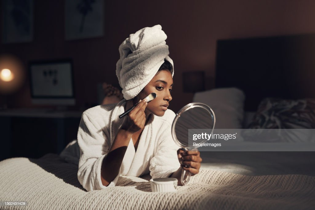 Pamper time is the closest experience to heaven on earth : Stock Photo