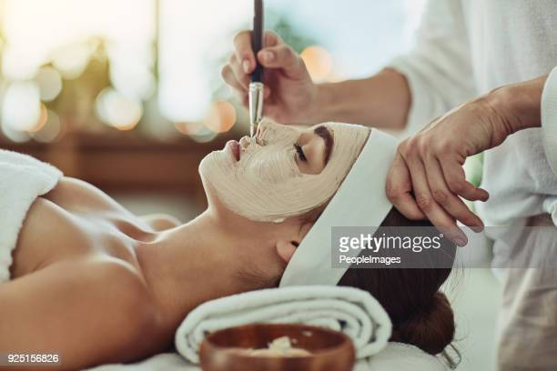 pamper your gorgeous self - beautician stock pictures, royalty-free photos & images