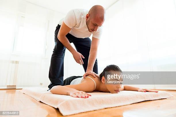 spa-Behandlung verwöhnen