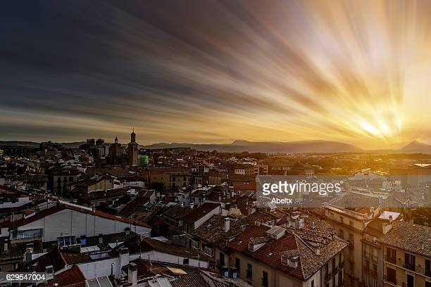 Pamplona from the heights