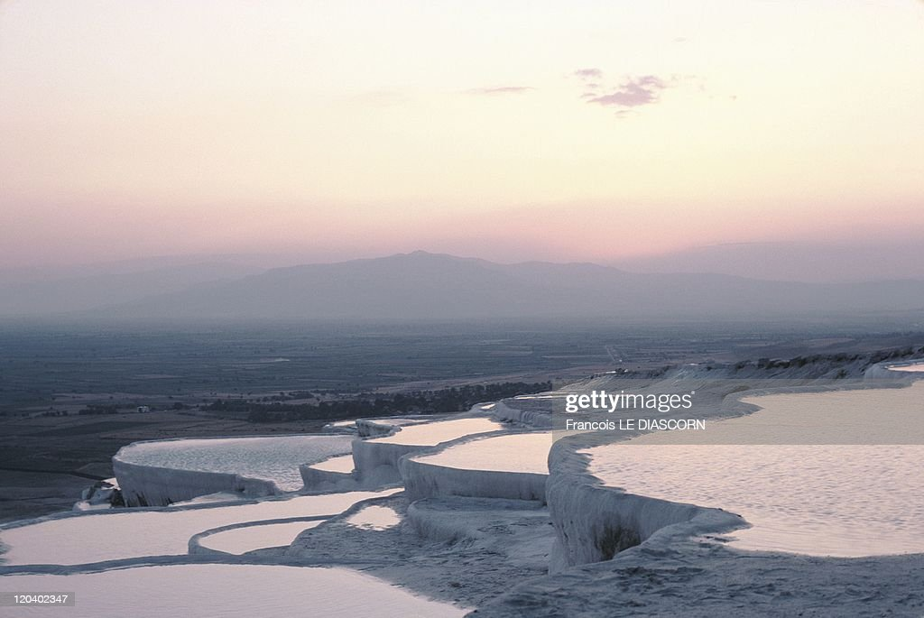 Pamukkale, Turkey - : News Photo
