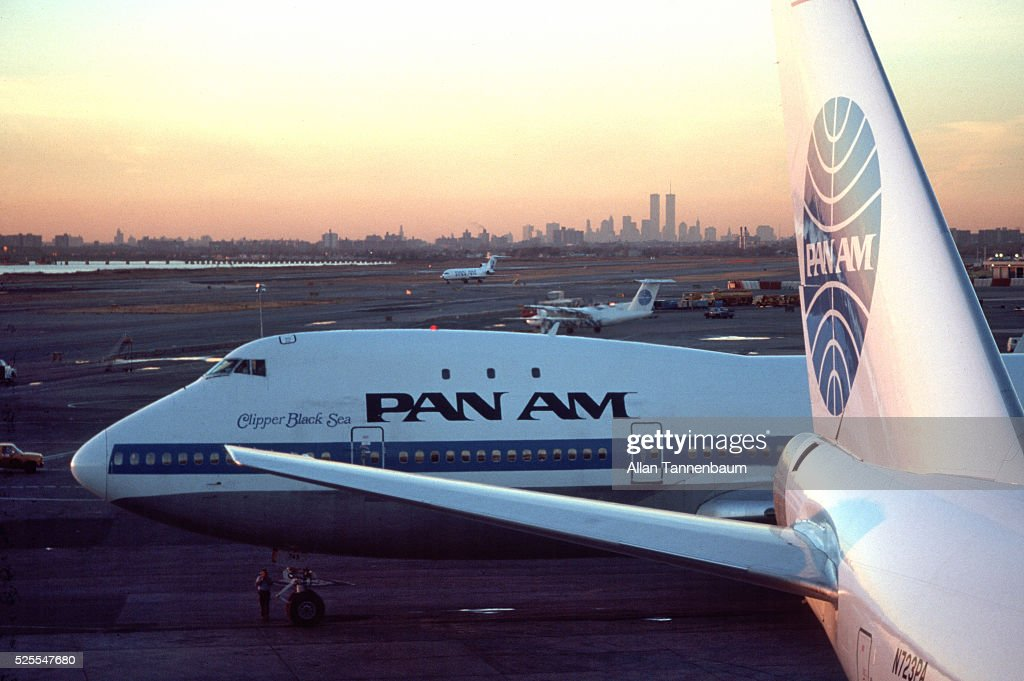 After a 64 year run, Pan American airlines ceases operations in 1991.