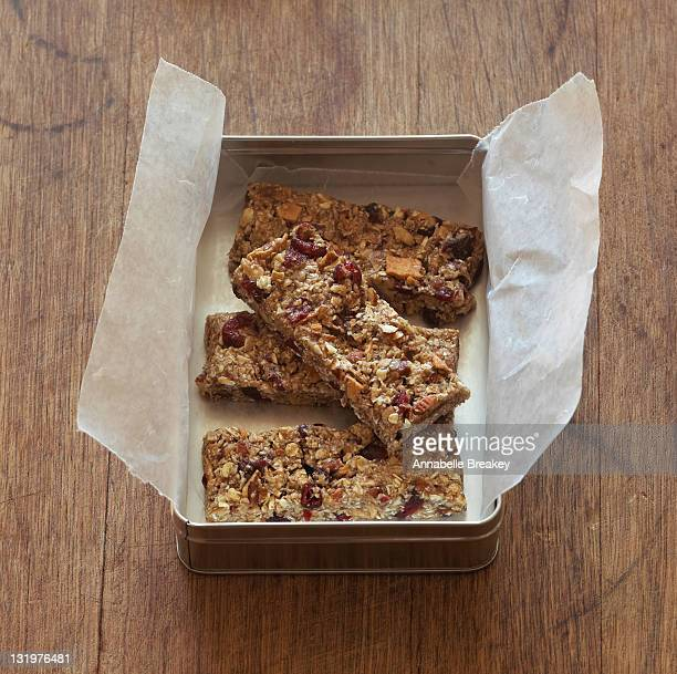 Pan of Fruit and Nut Chewy Trail Bars