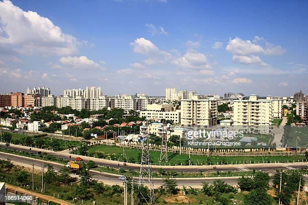 Pan View of Gurgaon