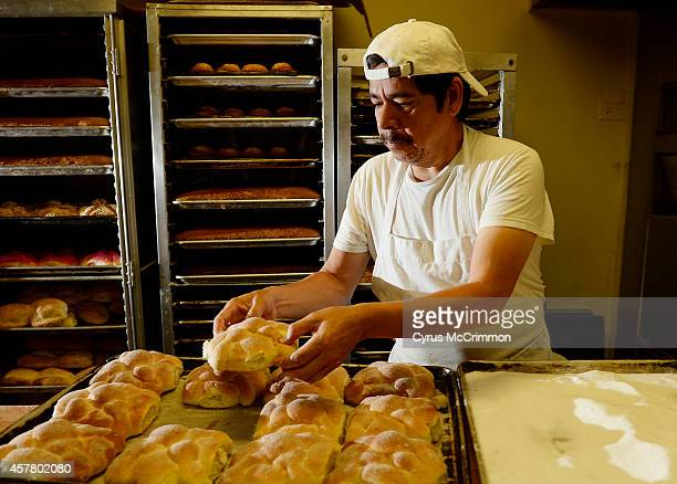 Panadería Rosales 2636 W 32nd Ave in Denver is preparing it's pan de muerto all month They have sesame seed sugar coated and plain versions and...