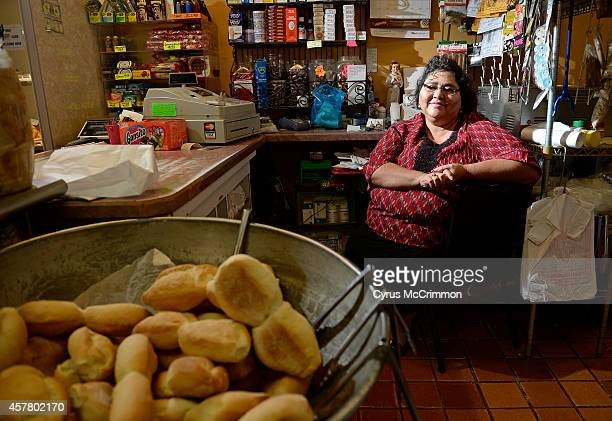 Panadería Rosales 2636 W 32nd Avein Denver is preparing it's pan de muerto all month They have sesame seed sugar coated and plain versions Shop owner...
