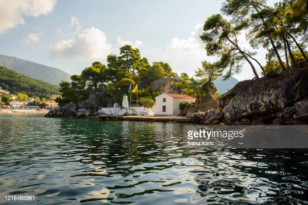 panagia chapel - epirus greece stock pictures, royalty-free photos & images