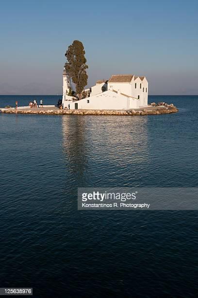 Panagia Vlahernon in Corfu Greece