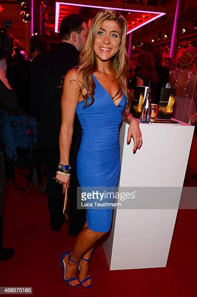 Panagiota Petridou attend the Deutscher Fernsehpreis 2014 after show party at Coloneum on October 2, 2014 in Cologne, Germany.