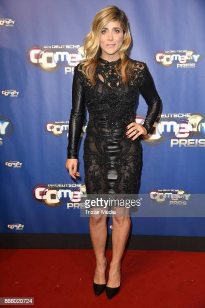 Panagiota Petridou attends the German Comedy Awards at Studio in Koeln Muehlheim on October 24, 2017 in Cologne, Germany.