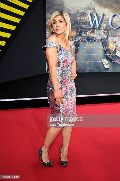 Panagiota Petridou attends the 'WORLD WAR Z' Germany Premiere at Sony Centre on June 4 2013 in Berlin Germany