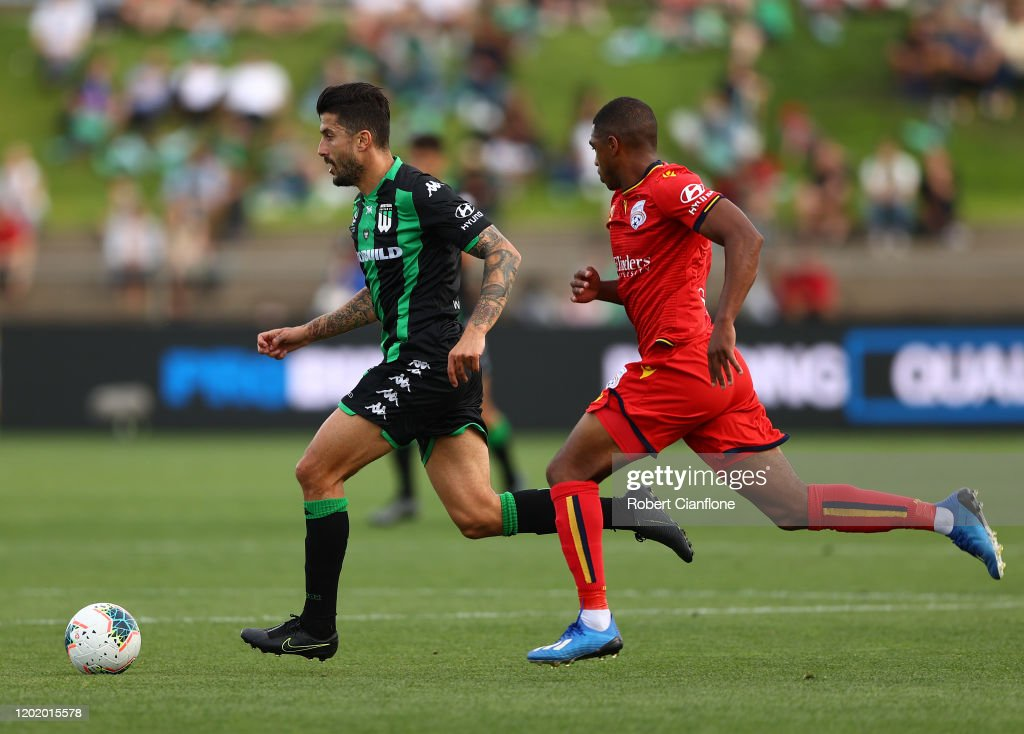 A-League Rd 16 - Western United v Adelaide United : News Photo
