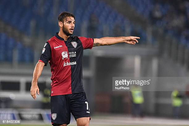 Panagiotis Tachtsidis of Cagliari during the Serie A match between Lazio v Cagliari on October 26 2016 in Rome Italy