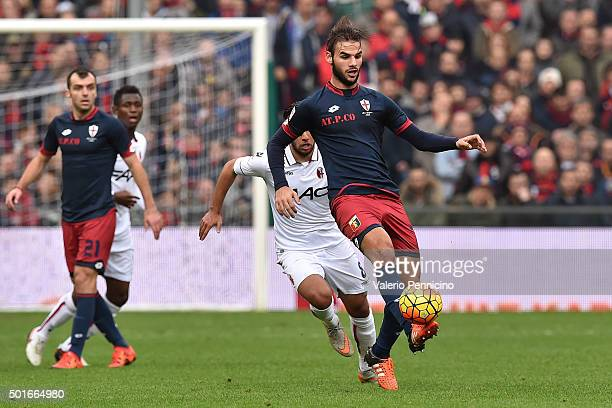 Panagiotis Tachtsidis of Genoa CFC controls the ball during the Serie A match betweeen Genoa CFC v Bologna FC at Stadio Luigi Ferraris on December 12...