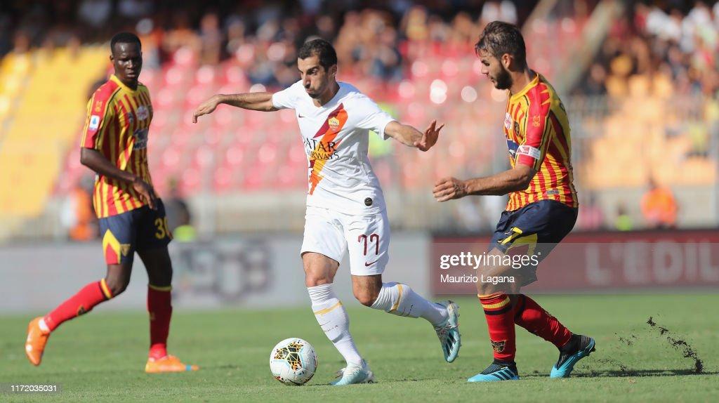 US Lecce v AS Roma - Serie A : News Photo