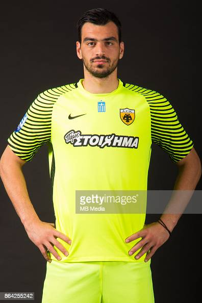Panagiotis Tsintotas Official photo shooting of AEK FC News