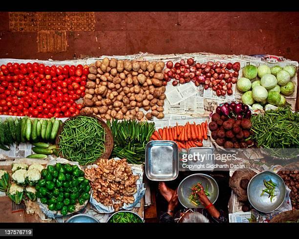 panaji municipal market,goa. - panjim stock photos and pictures