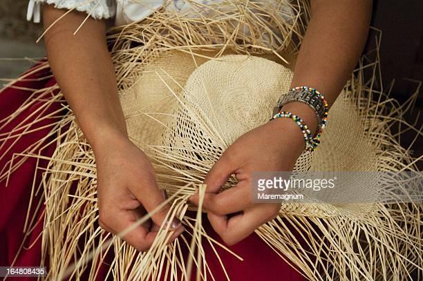 Panama Hat handicraft