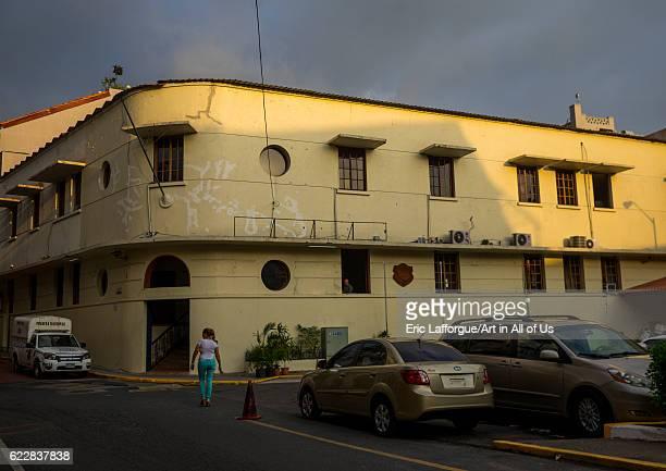 Panama, Province of Panama, Panama city, Police station in Casco Viejo on April 19, 2015 in Panama City, Panama.