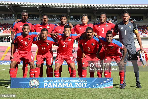 Panama Team Group during the Copa Centroamericana 2017 tournament between Panama and Costa Rica at Estadio Rommel Fernandez on January 22 2017 in...