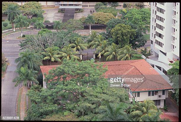 Panama's Vatican Embassy where leader Manuel Noriega took refuge during the US invasion of Panama The United States invaded Panama in 1989 to bring...