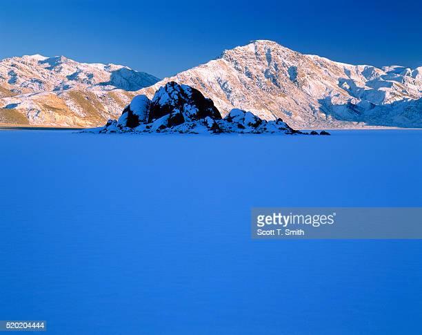 Panamint Range in Winter