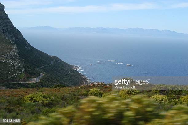 PanaoramaBlick über Atlantischen Ozean Richtung Kap der Guten Hoffnung bei Kapstadt Südafrika Afrika Atlantik Reise NB DIG PNr 1299/2005
