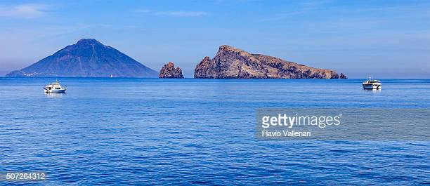 panarea, lisca bianca - aeolian islands, sicily - aeolian islands stock pictures, royalty-free photos & images