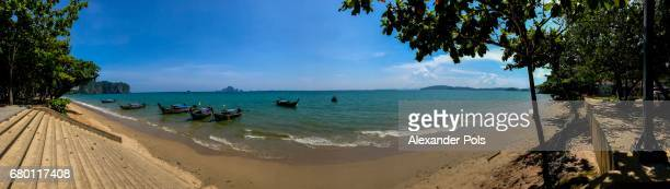 Panaroma view of Ao Nang Beach, Thailand