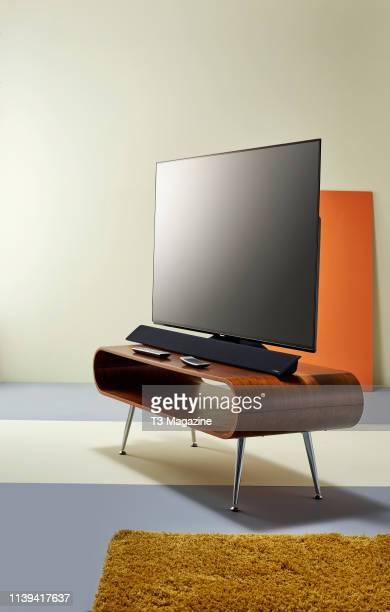 A Panasonic TX65FZ952B OLED television taken on October 2 2018