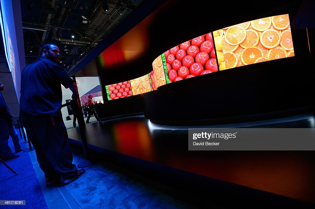Newest Innovations In Consumer Technology On Display At 2014 International CES : News Photo