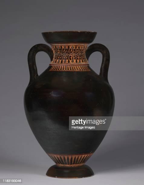 Panathenaic-shaped Amphora, 525-500 BC. Creator Unknown.