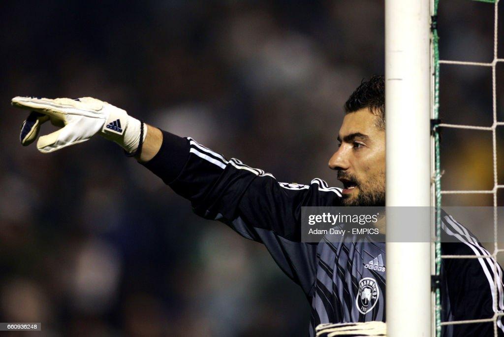 Soccer - UEFA Champions League - Group E - Panathinaikos v Arsenal : News Photo