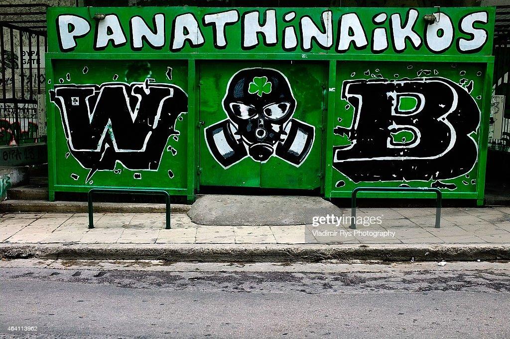 Panathinaikos FC v Olympiacos - Superleague Greece : News Photo