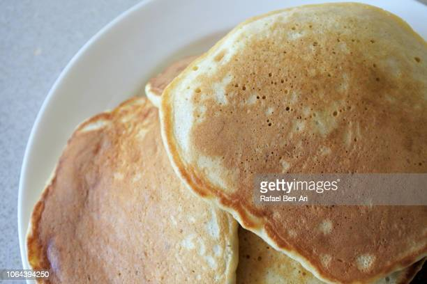 pancake cakes - rafael ben ari stock pictures, royalty-free photos & images