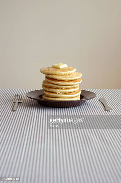 Pancake in plate