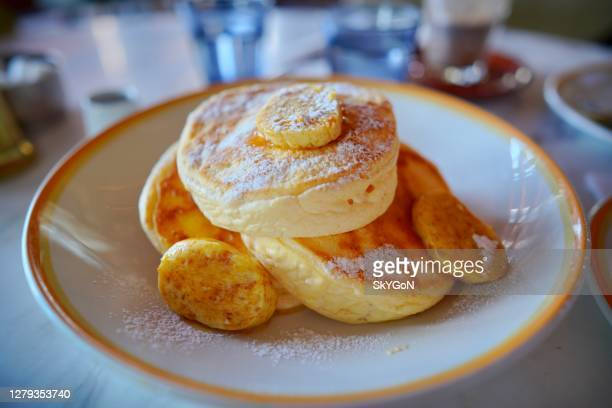 pancake - japan stock pictures, royalty-free photos & images